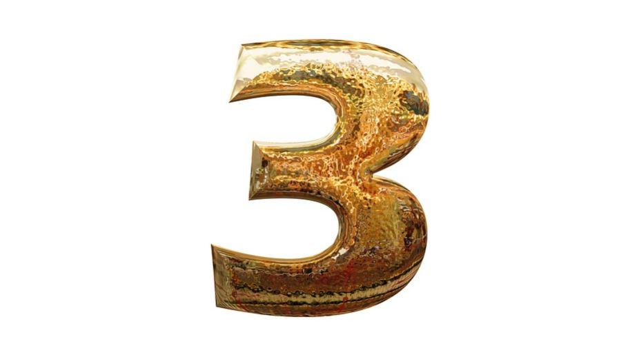 Significado del número 3: Numerología tres