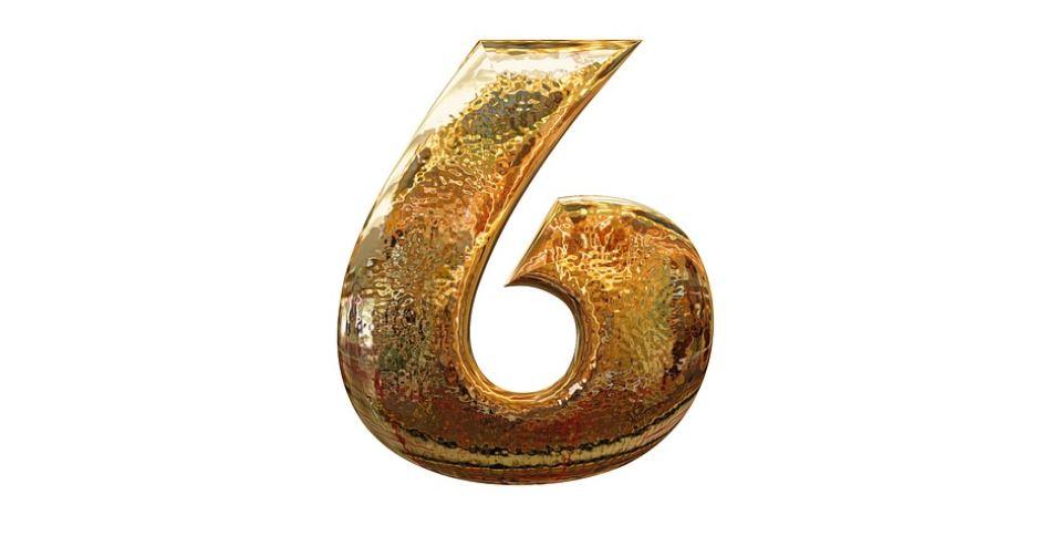 Significado del número 6: Numerología seis
