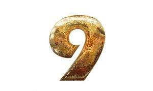Significado del número 9: Numerología nueve