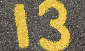 Significado del número 13: Numerología trece