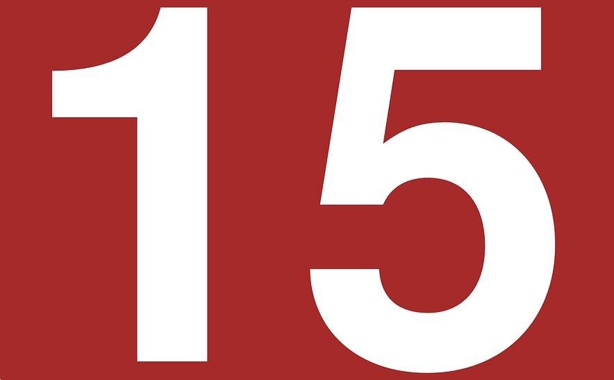 Significado del número 15: Numerología quince