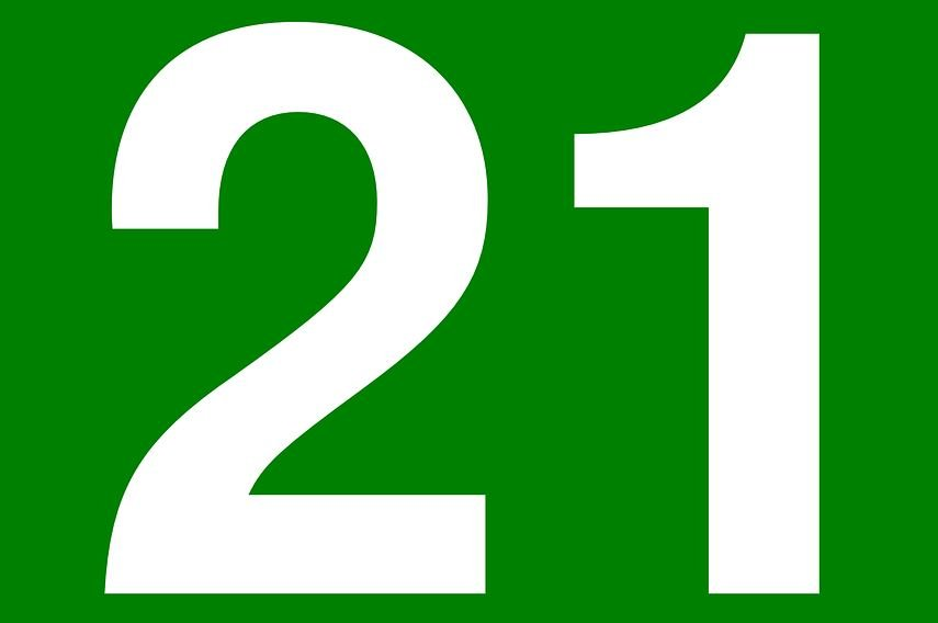 Significado del número 21: Numerología veintiuno