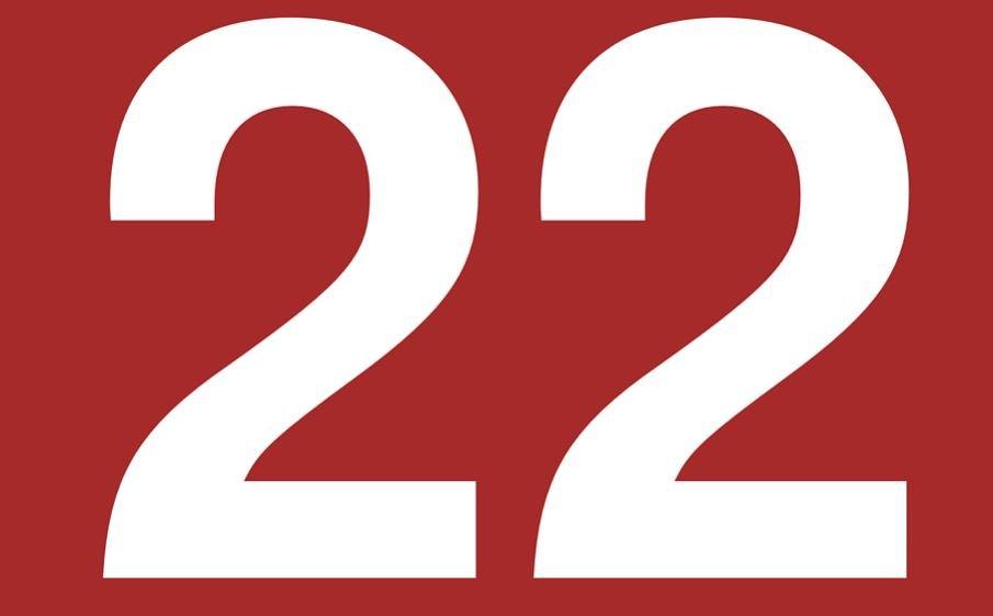número 22