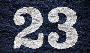 Significado del número 23: Numerología Veintitrés