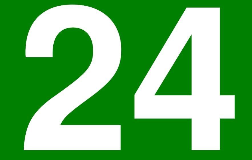 Significado del número 24: Numerología veinticuatro
