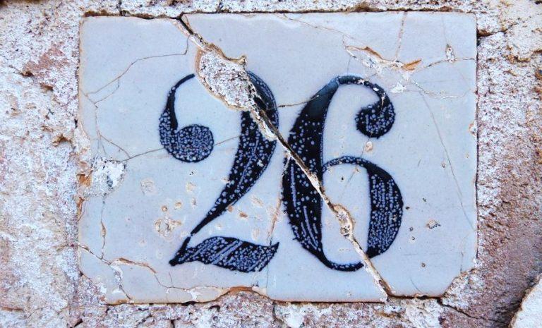 Significado del número 26: Numerología Veintiséis