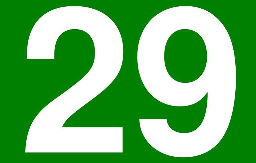 Significado del número 29: Numerología Veintinueve