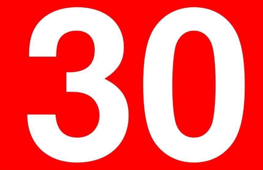 Significado del número 30: Numerología treinta