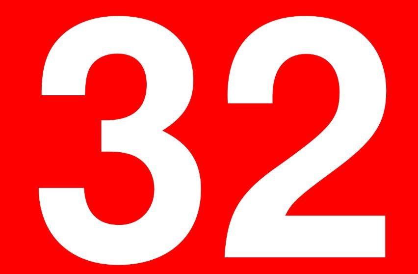 Significado del número 32: Numerología Treinta y dos