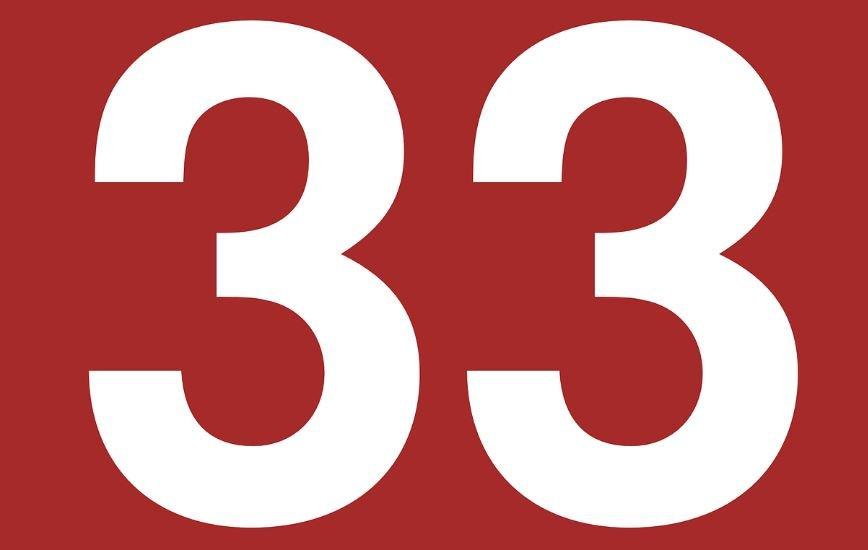 Significado del número 33: Numerología Treinta y tres