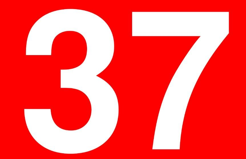 Significado del número 37: Numerología Treinta y siete
