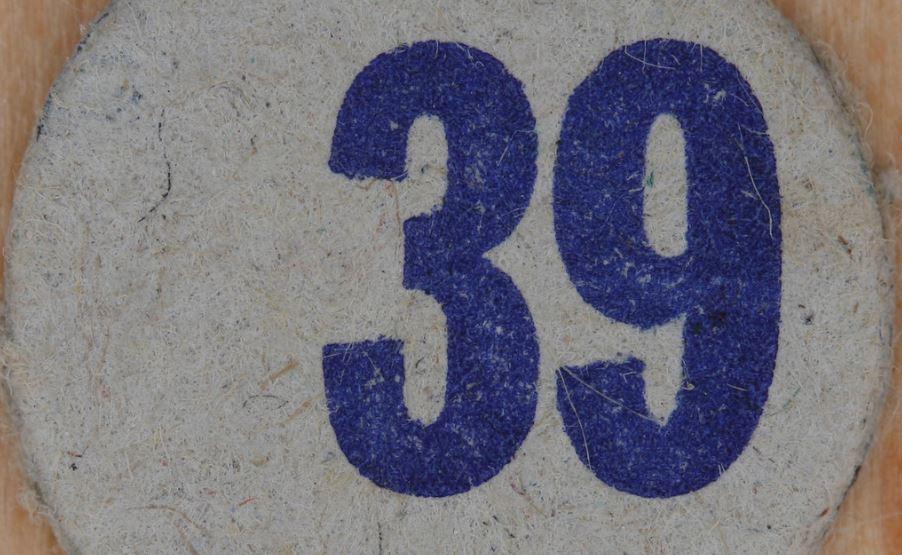 Significado del número 39: Numerología Treinta y nueve