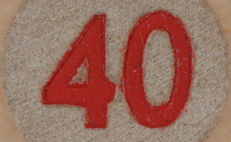 Significado del número 40: Numerología cuarenta