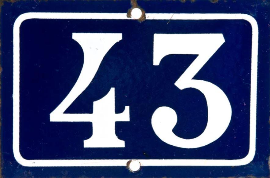 Significado del número 43: Numerología Cuarenta y tres
