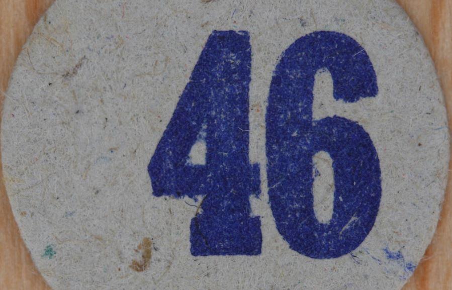 Significado del número 46: Numerología Cuarenta y seis