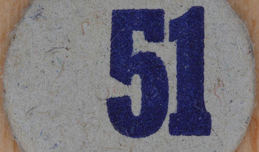 Significado del número 51: Numerología Cincuenta y uno