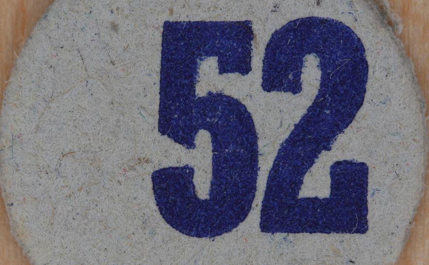 Significado del número 52: Numerología Cincuenta y dos