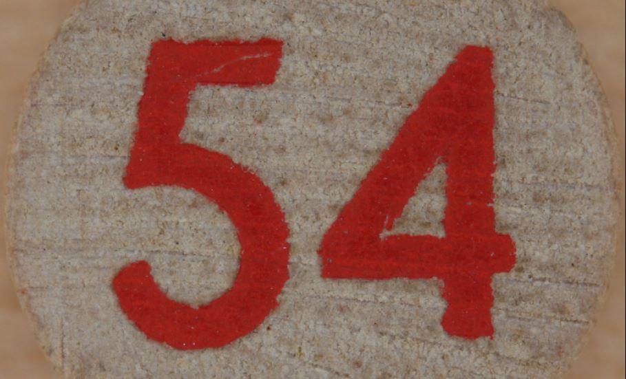 Significado del número 54: Numerología Cincuenta y cuatro