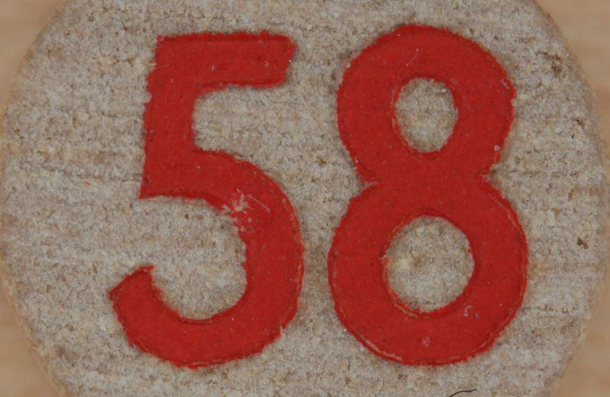 Significado del número 58: Numerología Cincuenta y ocho