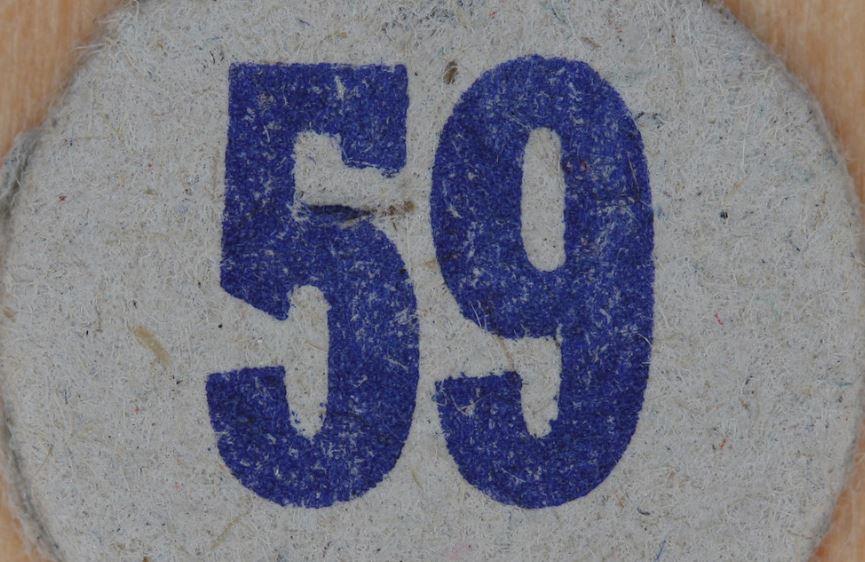 Cincuenta y nueve
