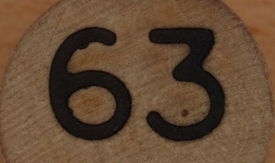 Significado del número 63: Numerología Sesenta y tres