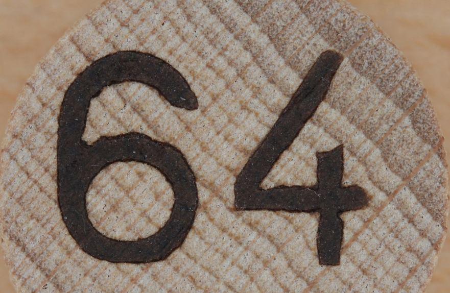 Significado del número 64: Numerología Sesenta y cuatro