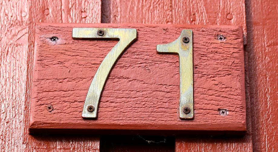 Significado del número 71: Numerología Setenta y uno