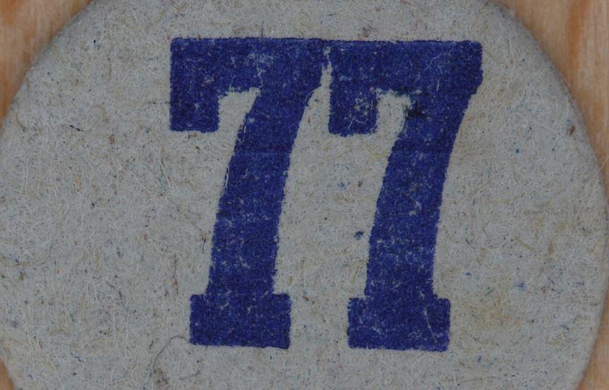 Significado del número 77: Numerología Setenta y siete