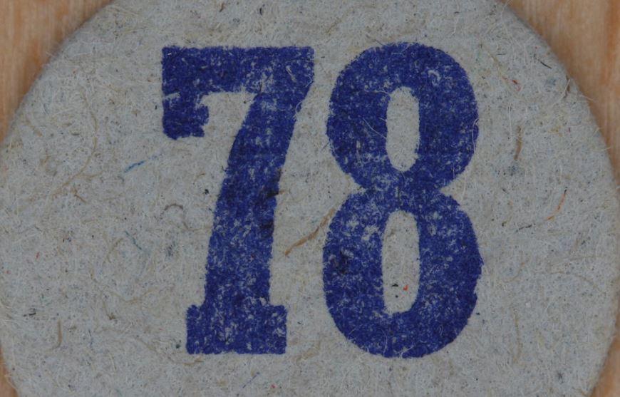 Significado del número 78: Numerología Setenta y ocho