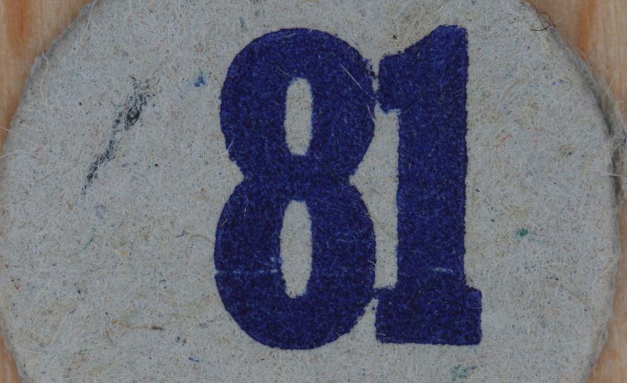 Significado del número 81: Numerología Ochenta y uno