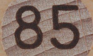 Significado del número 85: Numerología Ochenta y cinco