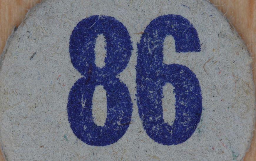 Significado del número 86: Numerología Ochenta y seis