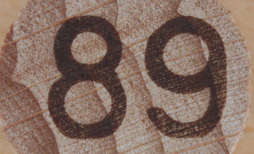 Significado del número 89: Numerología Ochenta y nueve