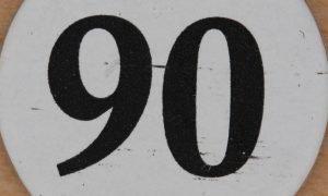 Significado del número 90: Numerología noventa