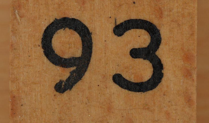 Significado del número 93: Numerología Noventa y tres