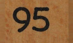 Significado del número 95: Numerología Noventa y cinco