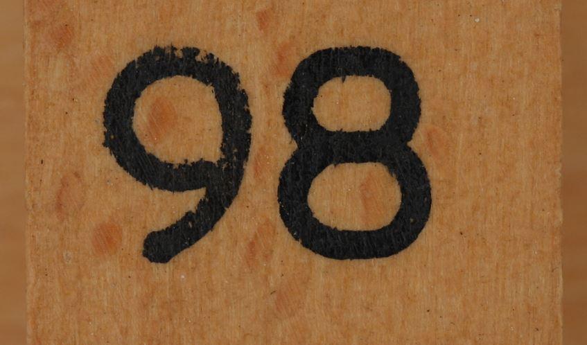Significado del número 98: Numerología Noventa y ocho