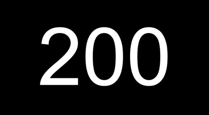 Significado del número 200: Numerología doscientos