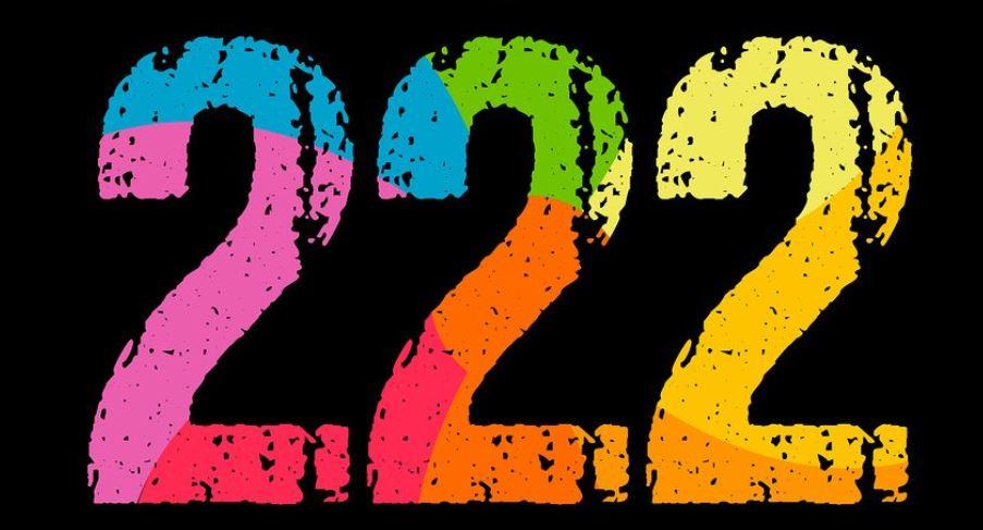 Significado del número 222: Numerología Doscientos veintidós