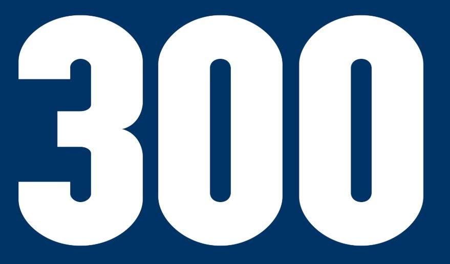 Significado del número 300: Numerología trescientos