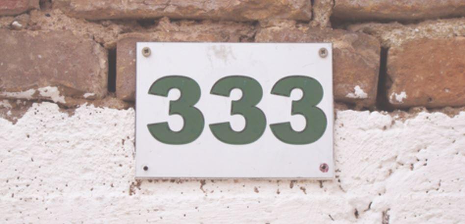 Significado del número 333: Numerología Trescientos treinta y tres