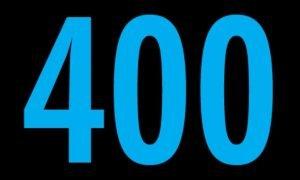 Significado del número 400: Numerología Cuatrocientos