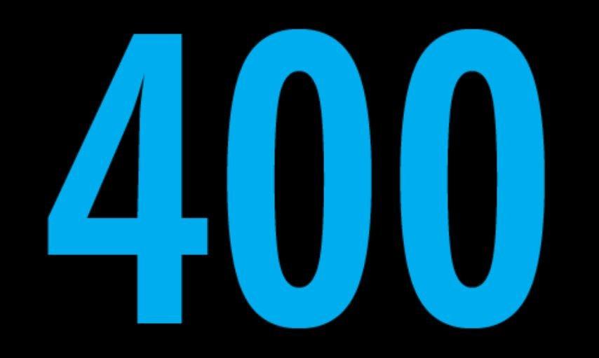 Cuatrocientos