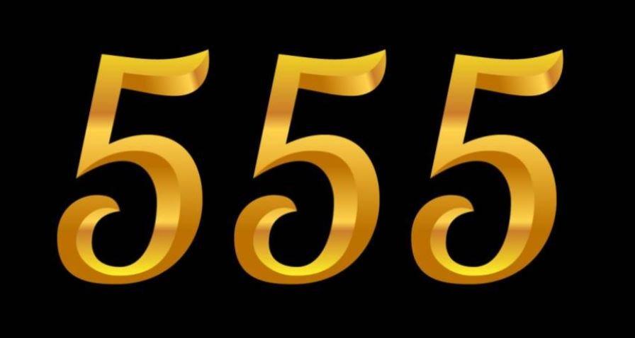 Significado del número 555: Numerología Quinientos cincuenta y cinco