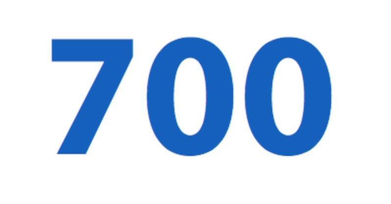 Significado del número 700: Numerología setecientos