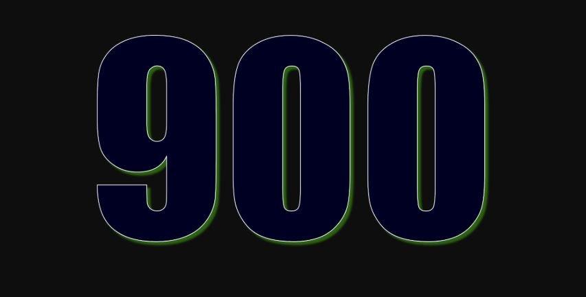 Significado del número 900: Numerología Novecientos