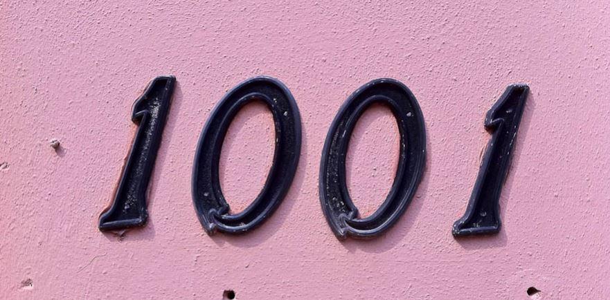Significado del número 1001: Numerología mil uno