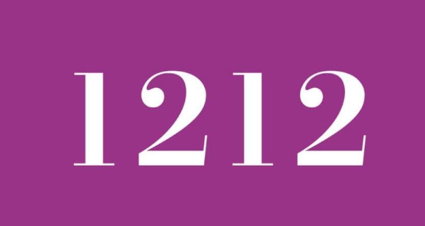 Significado del número 1212: Numerología Mil doscientos doce