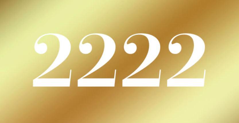 Significado del número 2222: Numerología Dos mil doscientos veintidós
