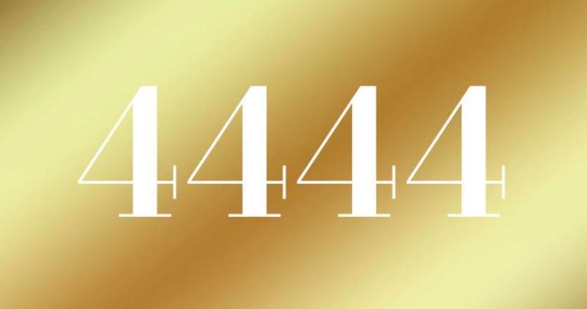 Significado del número 4444: Numerología cuatro mil cuatrocientos cuarenta y cuatro